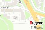 Схема проезда до компании Амплуа в Нижнем Новгороде