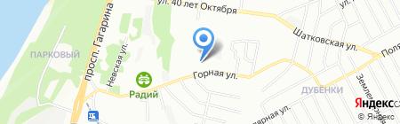 Лидер на карте Нижнего Новгорода