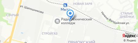 СтройАвтоТранс на карте Нижнего Новгорода