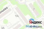 Схема проезда до компании Comepay в Нижнем Новгороде
