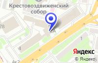 Схема проезда до компании ИВАНОВ А.Ю. в Нижнем Новгороде
