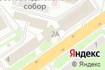 Схема проезда до компании Работа Сегодня + в Нижнем Новгороде