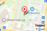 Схема проезда до компании Универсалинвестновация в Нижнем Новгороде