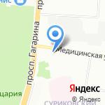 Южный Двор-152 на карте Нижнего Новгорода