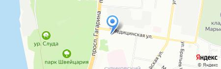 Kebab House на карте Нижнего Новгорода