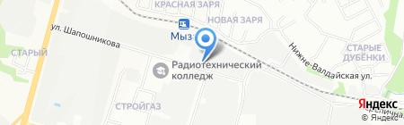 РУССЕРВИС на карте Нижнего Новгорода