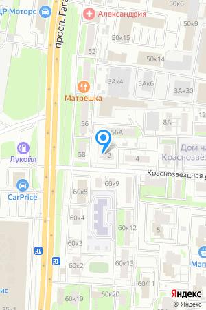 Дом 2 по ул. Краснозвёздная на Яндекс.Картах