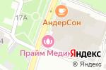Схема проезда до компании Победа Финанс в Нижнем Новгороде