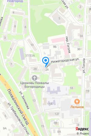 Дом 24 по ул. Нижегородская на Яндекс.Картах