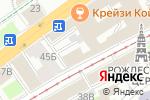Схема проезда до компании Кракен в Нижнем Новгороде
