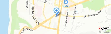 Модуль на карте Нижнего Новгорода