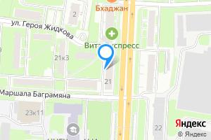 Двухкомнатная квартира в Нижнем Новгороде м. Горьковская, проспект Гагарина, 21