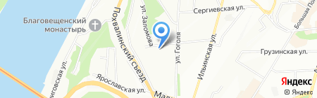 Приоритет на карте Нижнего Новгорода