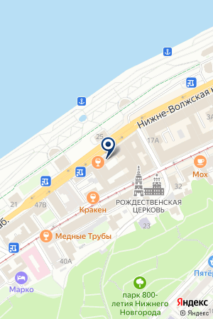 ПКФ ВОСХОД на карте Нижнего Новгорода