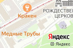 Схема проезда до компании БОГАТА в Нижнем Новгороде