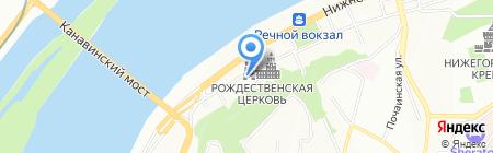 Астория Групп на карте Нижнего Новгорода