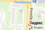 Схема проезда до компании Мастер оптика в Нижнем Новгороде