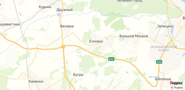 Елховка на карте
