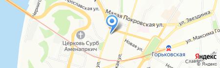 Мега-Строй на карте Нижнего Новгорода