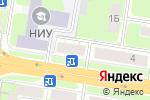 Схема проезда до компании Внедренческий центр в Нижнем Новгороде