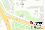 Схема проезда до компании Qwerty центр в Нижнем Новгороде