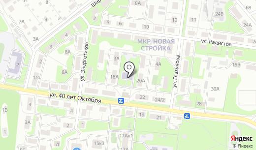 Детский сад №234. Схема проезда в Нижнем Новгороде