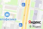 Схема проезда до компании Последний штрих в Нижнем Новгороде