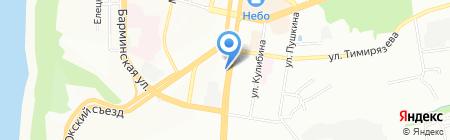 Телант-НН на карте Нижнего Новгорода