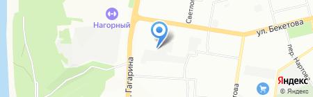 Секьюрити Системс на карте Нижнего Новгорода