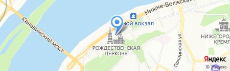Дисконт на карте Нижнего Новгорода