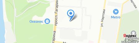 МикроГейт на карте Нижнего Новгорода