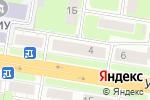 Схема проезда до компании Триколор-ТВ в Нижнем Новгороде