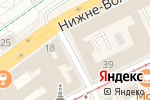 Схема проезда до компании ВГД-ДИНАКОН в Нижнем Новгороде