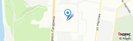 ГАРД НН на карте Нижнего Новгорода