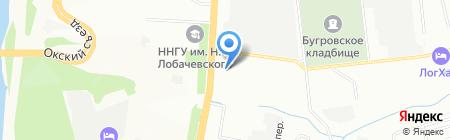 ЦентрИнформ на карте Нижнего Новгорода