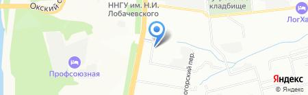 Venus-Style на карте Нижнего Новгорода