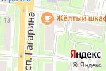 Схема проезда до компании Южный Двор Поволжье в Нижнем Новгороде