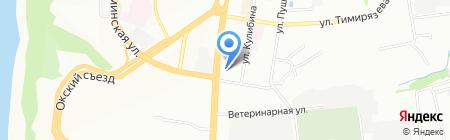 Стоматсервис на карте Нижнего Новгорода