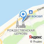 Манго на карте Нижнего Новгорода
