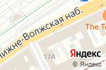 Схема проезда до компании 4 измерения в Нижнем Новгороде