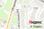 Схема проезда до компании New hobby в Нижнем Новгороде