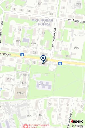 ОБЩЕЖИТИЕ НИЖЕГОРОДСКИЙ ЗАВОД ИМ. М. В. ФРУНЗЕ на карте Нижнего Новгорода