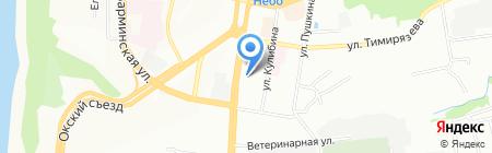 Школа-интернат №65 для слабослышащих и позднооглохших детей на карте Нижнего Новгорода