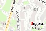 Схема проезда до компании Spa-Лорэн в Нижнем Новгороде