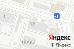 Схема проезда до компании Компания по продаже комплектующих для натяжных потолков в Нижнем Новгороде