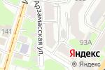 Схема проезда до компании Квартал-ЦЭС в Нижнем Новгороде