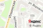 Схема проезда до компании Клаустрофобия в Нижнем Новгороде