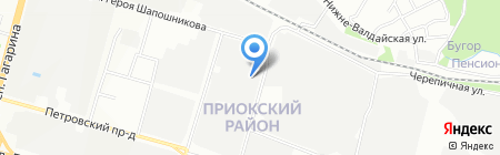 Банкомат Волго-Вятский банк Сбербанка России на карте Нижнего Новгорода