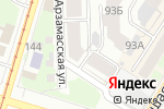 Схема проезда до компании Мапеи в Нижнем Новгороде