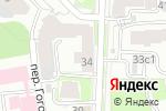Схема проезда до компании Shabarovstudio в Нижнем Новгороде
